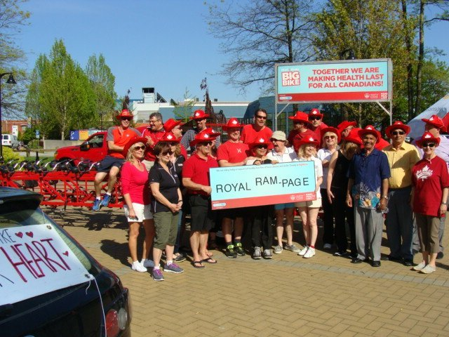 Heart and Stroke Foundation - Big Bike Ride