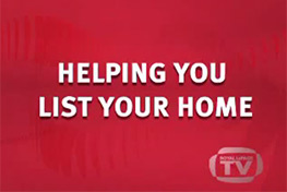 Helping you list your home-We Work With You